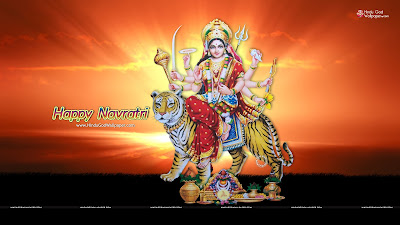 Navratri Celebration Wallpaper
