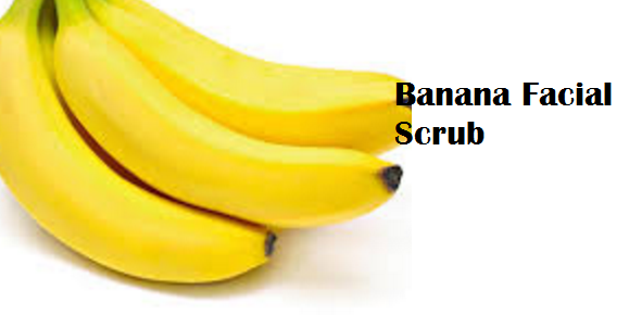 Health Benefits of Banana fruit - Banana Facial Scrub