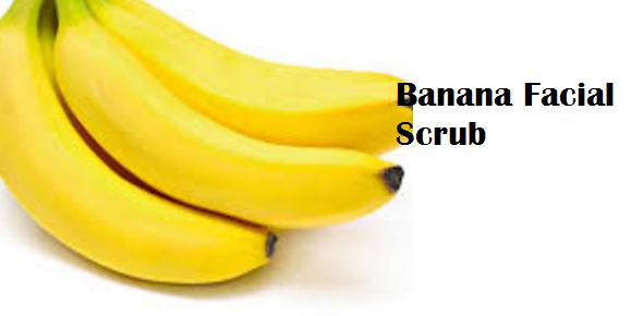 Health Benefits of Banana fruit - Banana Facial Scrub
