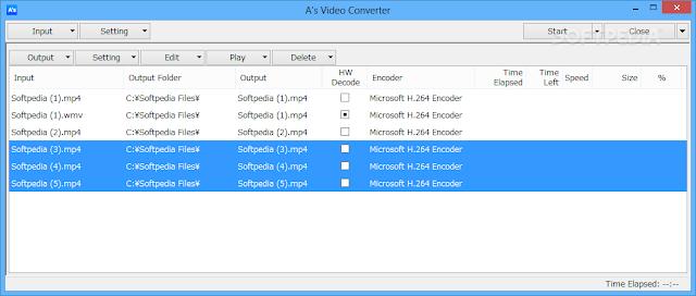 تحميل برنامج تحويل صيّغ الفيديو A'S VIDEO CONVERTER