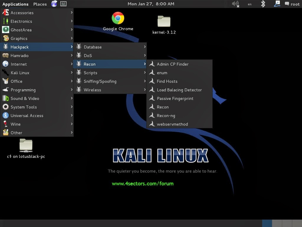 Hacking Tools and Tech eBooks Collection: Lazy Kali [Bash