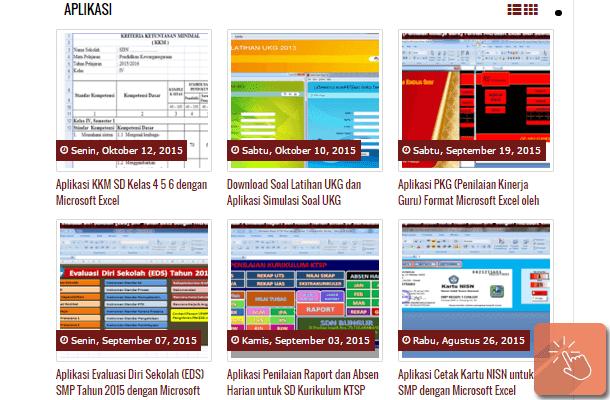 Kumpulan Aplikasi Sekolah dengan Microsoft Excel