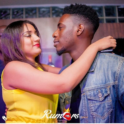 BB Nigeria evicted housemates, Gifty and Soma get cozy at a club in Lagos