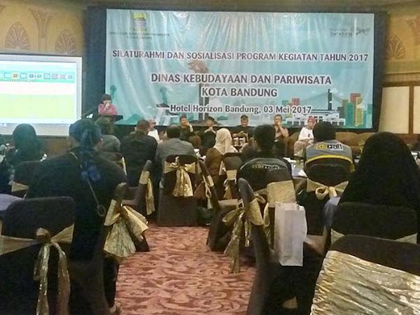 Disbudpar Kota Bandung Gelar Silaturahmi dan Sosialisasi Program 2017