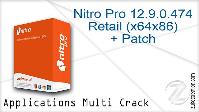 Nitro Pro 12.9.0.474 Retail(x64x86) + Patch