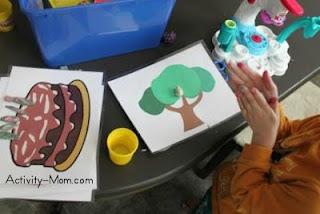 free printable playdough mats
