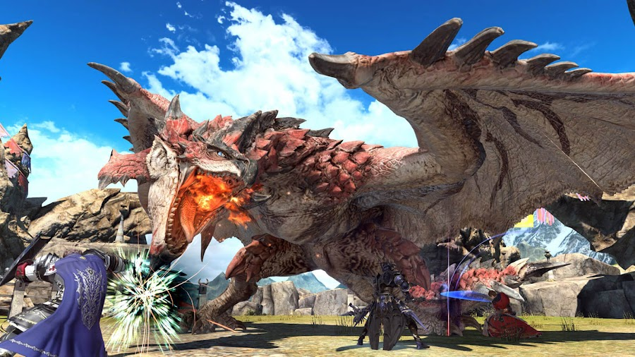 monster hunter world final fantasy xiv quest