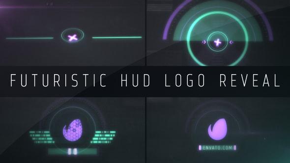 قالب افتر افكت انترو بتقنية HUD لعرض لوجو