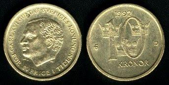 Sweden 10 Kronor (1991-1999)