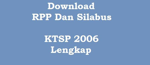 Download RPP Dan Silabus KTSP 2006 Kelas 2 SD
