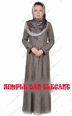 Model Baju Muslim Simple dan Elegan