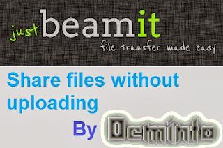 Just Beam it
