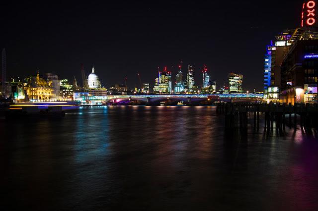 Vista da Southbank-Londra