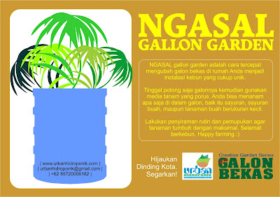 simple gallon garden
