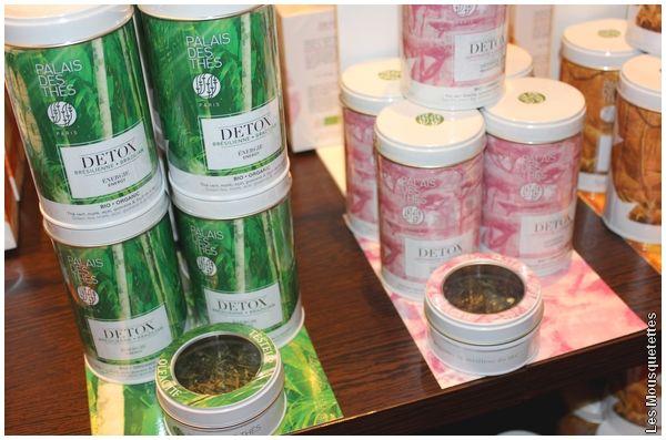 Collection DETOX Brésilienne et Japonaise, Le Palais des Thés