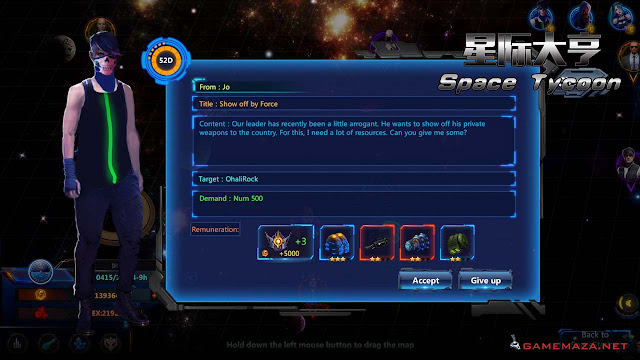 Space Tycoon Gameplay Screenshot 2