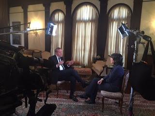erdogan wawancara eksklusif dengan jurnalis CNN