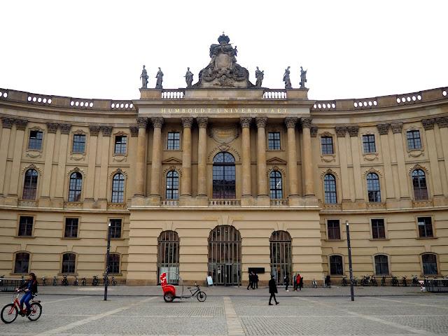 Humboldt University building, Berlin, Germany