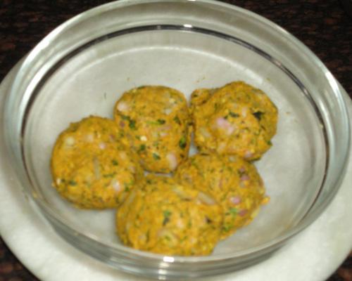 make 5 dough balls
