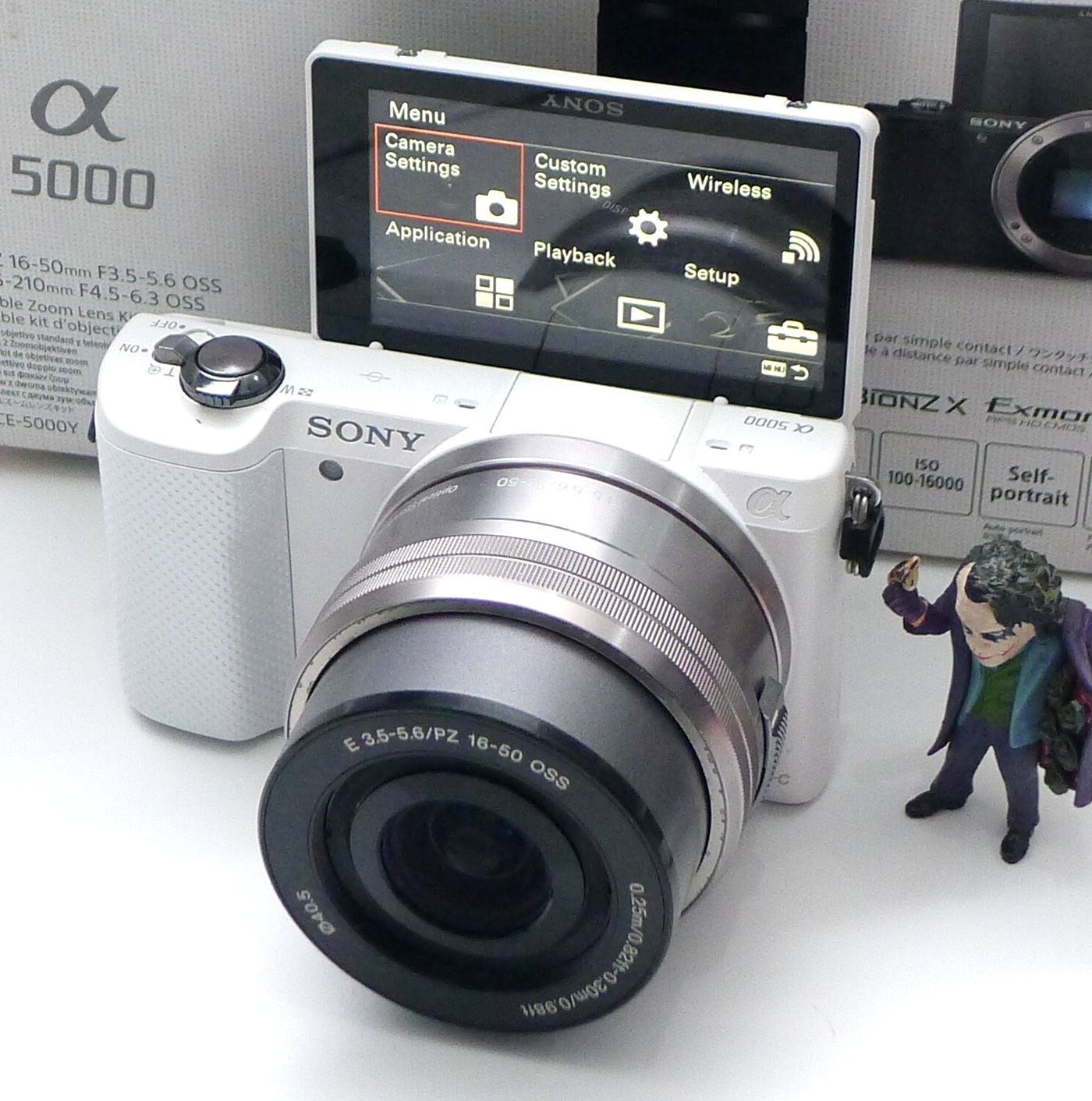 Kamera Mirrorless Sony A5000 Built In Wifi Fullset Jual Beli