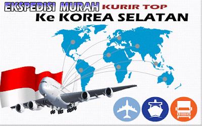 JASA EKSPEDISI MURAH KURIR TOP KE KOREA SELATAN