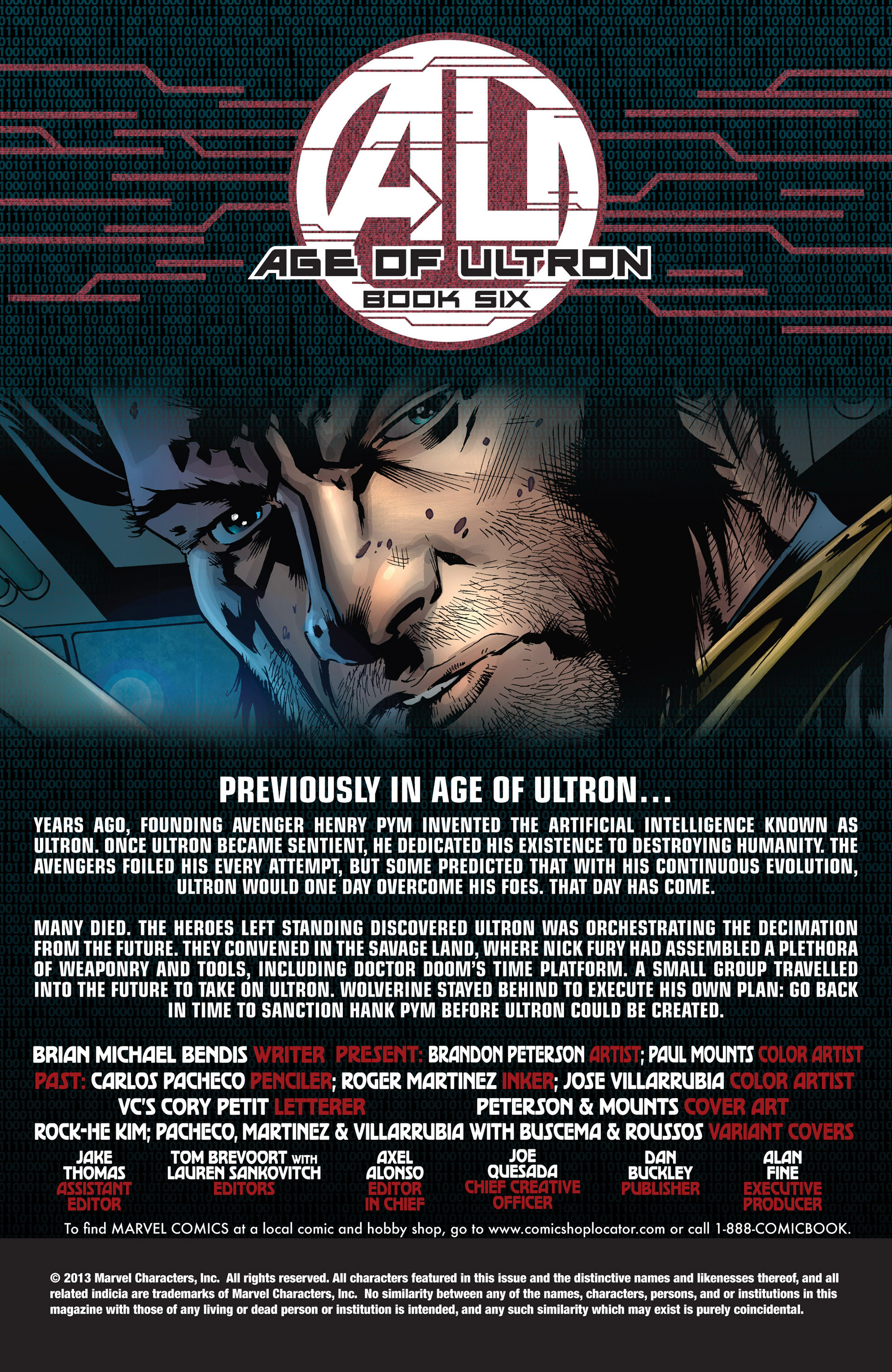 Read online Age of Ultron comic -  Issue #6 - 2