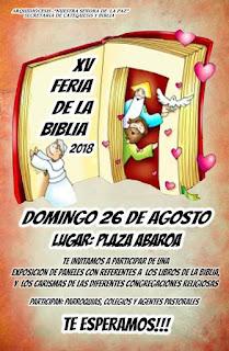 XV FERIA DE LA BIBLIA