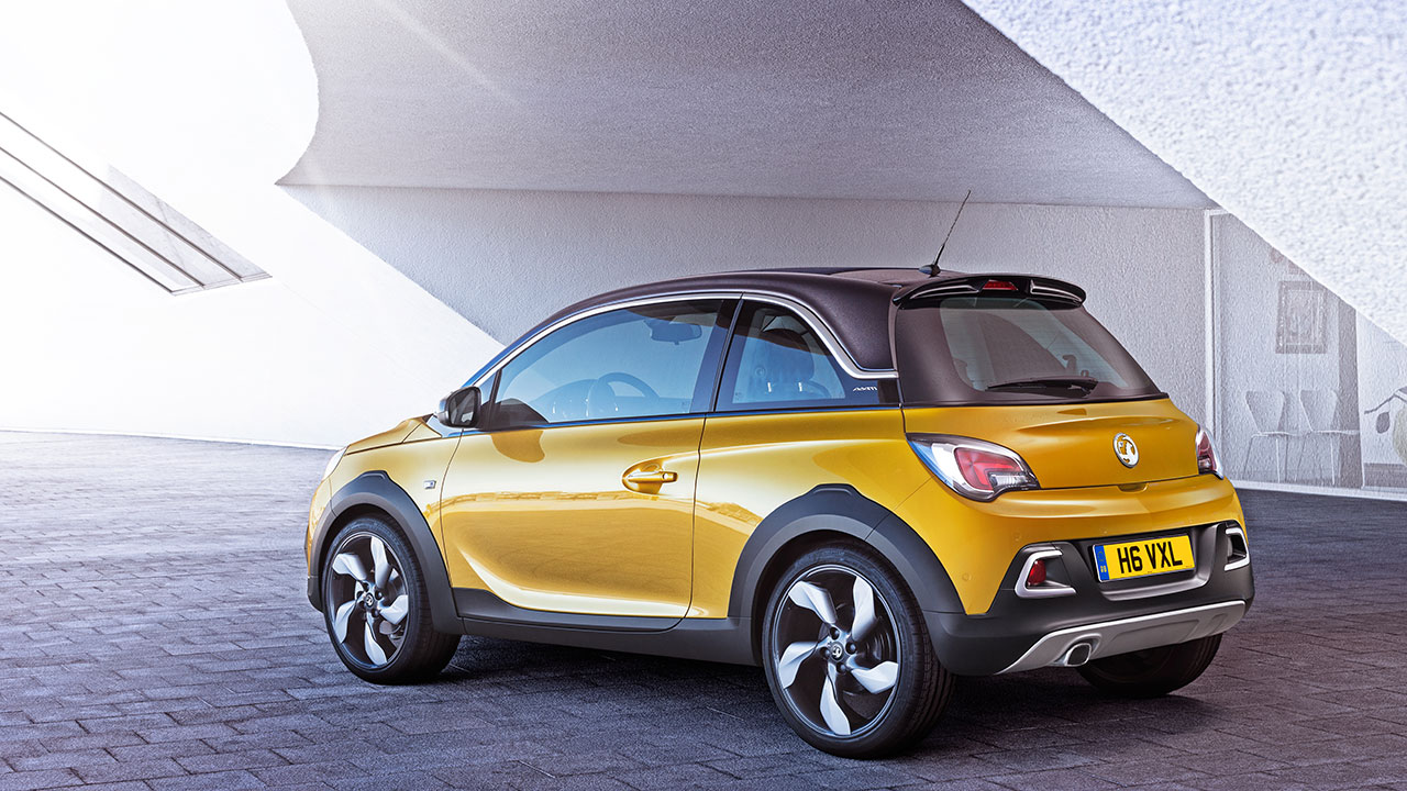 Vauxhall Adam Rocks rear
