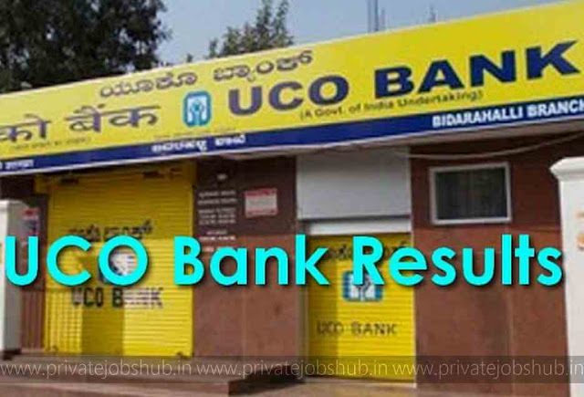 UCO Bank Results 2017–2018 Declared CRP Clerk-VI List, DV Dates ucobank.com