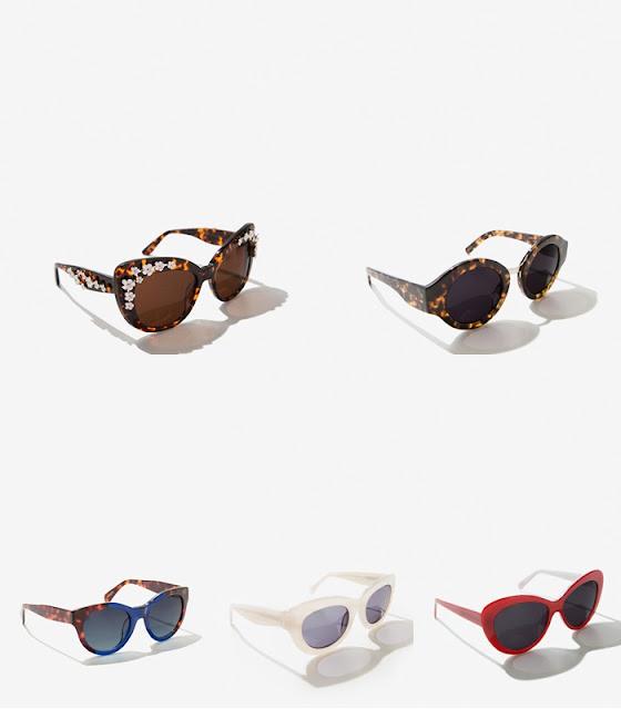 Modelos de óculos em massa da Uterque 2016