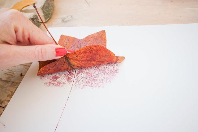 DIY impressions végétales - Marion Romain