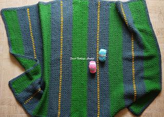 free crochet blanket pattern, free crochet fun play baby blanket