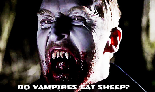 The Ukraine has a Vampire on the loose killing Sheep for their blood.
