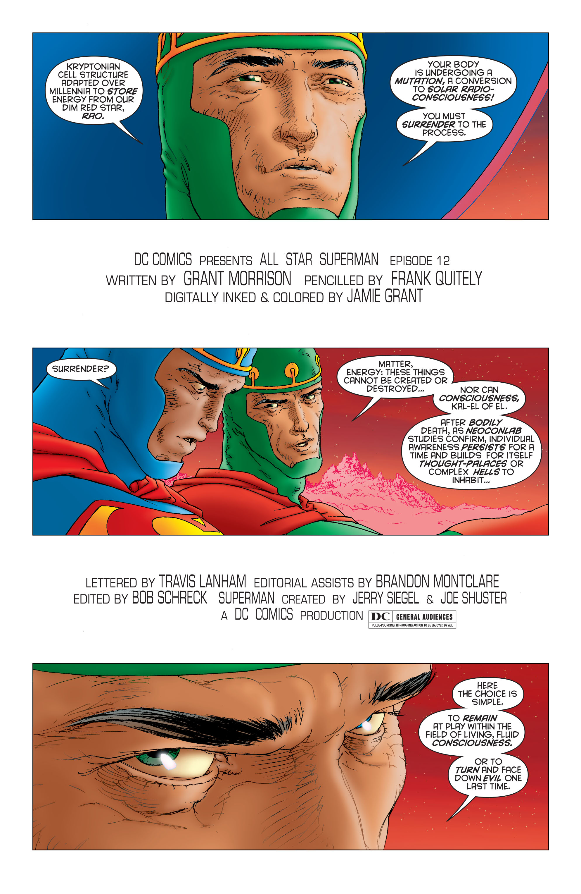 Read online All Star Superman comic -  Issue #12 - 4