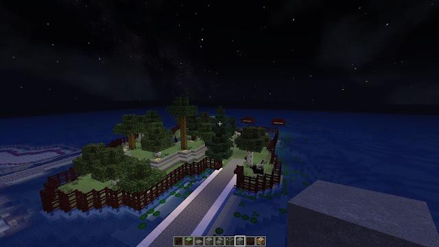 isla en minecraft creativo