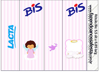 Brunette Angel Girl, Free Printable Candy Bar Labels.