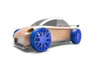 Automoblox, des jouets en bois modernes