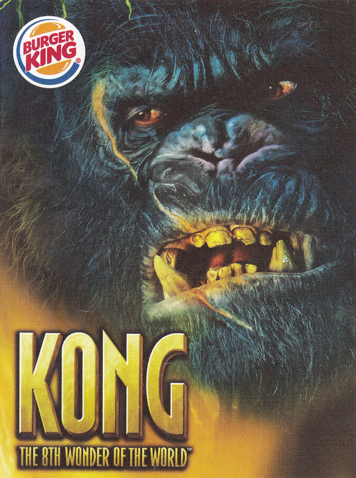 Toys And Stuff Burger King 2005 King Kong W Swinging Arms