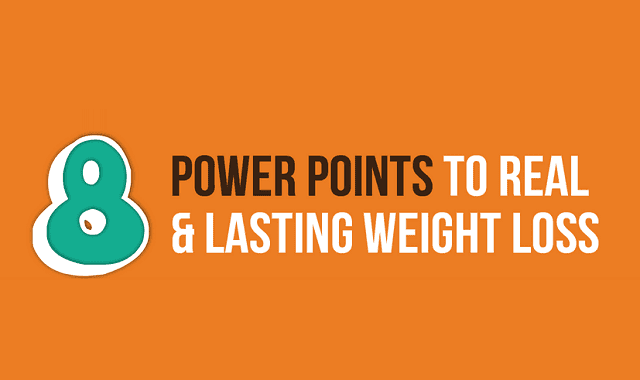 Image: 8 Power Points to Real and Lasting Weight Loss
