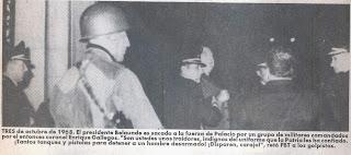 03 de octubre de 1968 , Golpe de estado al presidente Fernando Belaunde