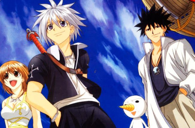 Top Sword Anime Series ( Where the Main Character Uses a Sword) - Rave Master