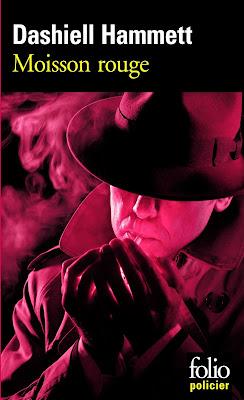 La moisson rouge de Dashiell Hammett - Folio policier - Gallimard - 2011