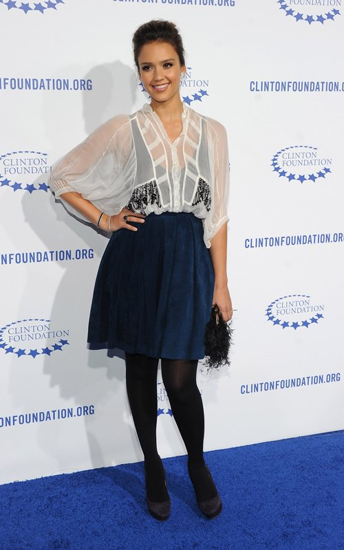 MyMy .. The No Feminist Blog: Jessica Alba au MET Gala