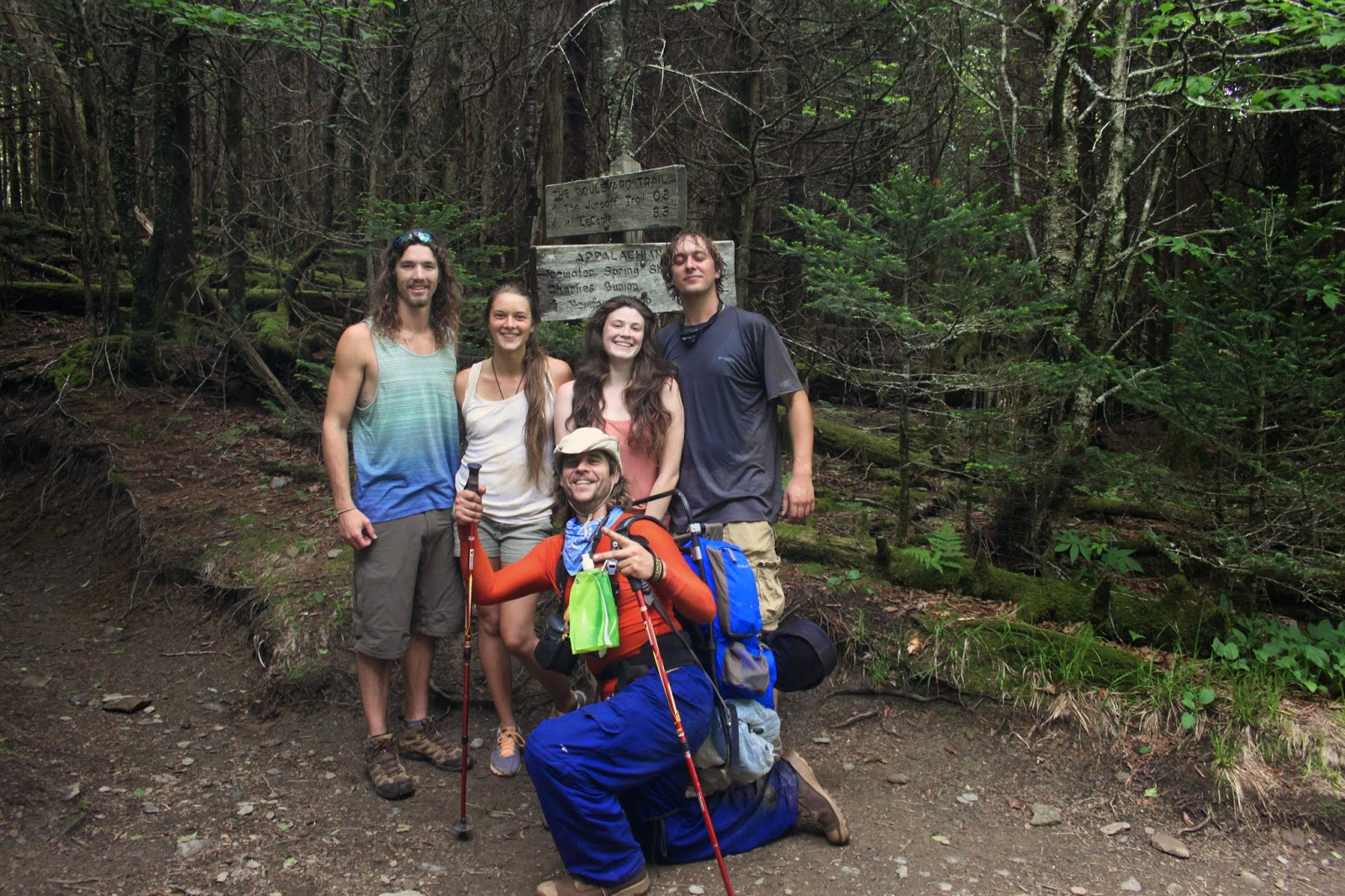 the experiences and lessons from the backpacking adventure in the appalachian mountains Get out in to nature in the blue ridge mountains of boone, nc go hiking, skiing, fishing, or golf browse our outdoor activities, & book hotels here  outdoors boone is known for world.