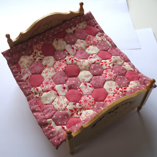 pink dollhouse quilt