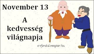 November 13 - A kedvesség világnapja