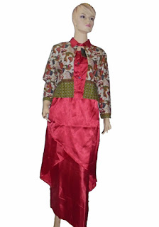 grosir baju batik gamis