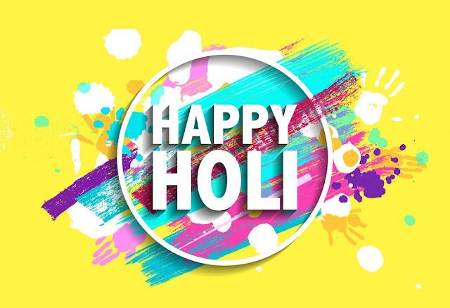 Happy Holi Card Images