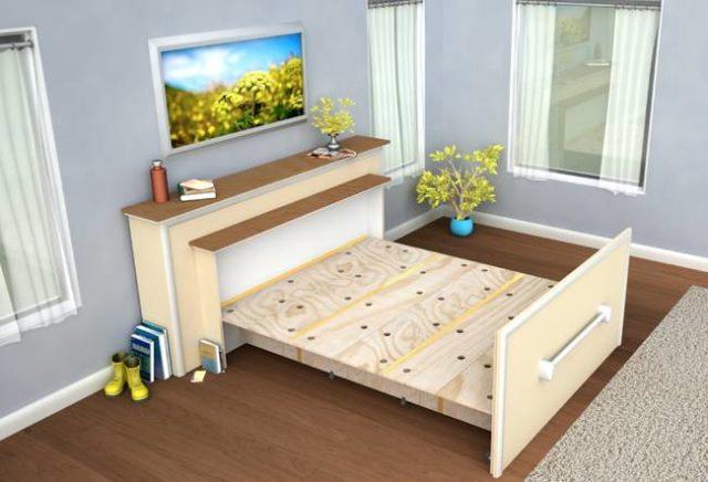 سرير قابل للطي, سرير للسقق الصغيرة, سرير صغير, سرير ضيوف
