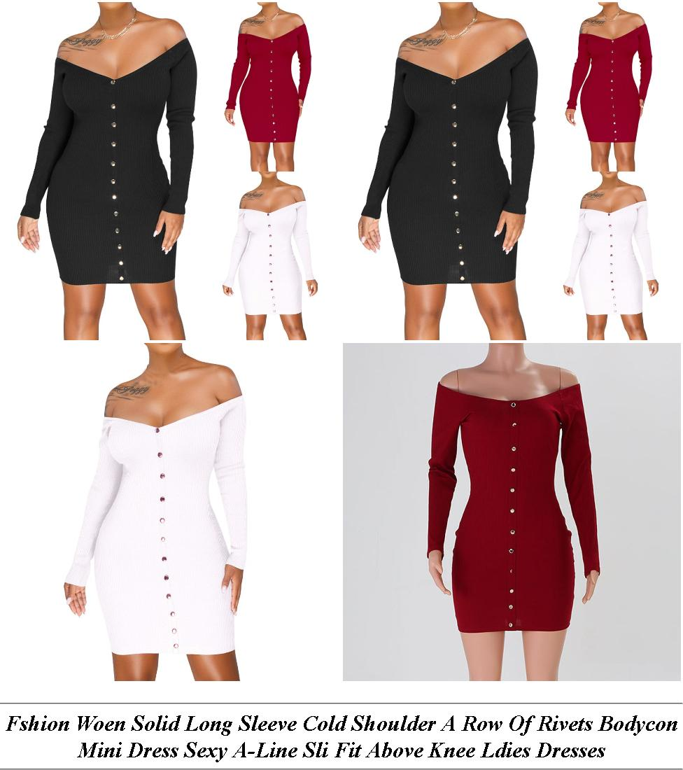 Plus Size Dresses For Women - Womens Clothes Sale Clearance - Bodycon Dress - Very Cheap Clothes Uk